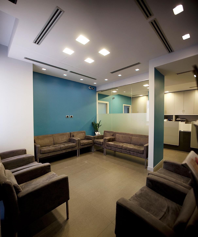 Gli ambienti dello STUDIO DENTISTICO odontoiatrico LG - MILANO