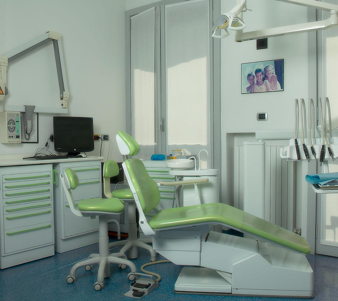 Gli ambienti dello STUDIO DENTISTICO odontoiatrico GT - MILANO