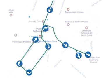 Cambio viabilità – Riapertura accesso via San Vittore – Via Lanzone